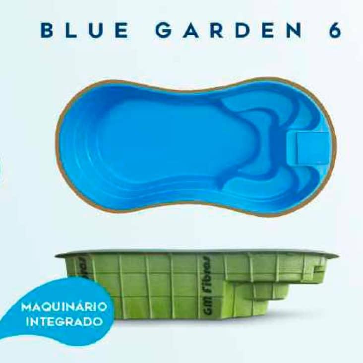 BLUE GARDEN 6